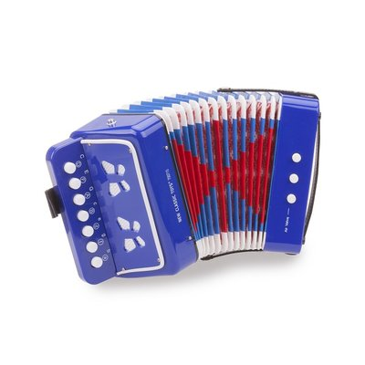 Accordeon Blauw